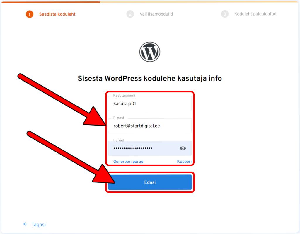 veebimajutus.ee-wordpress-kasutaja-tegemine-edasi